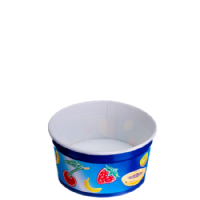 Type 102 ice cream Cup 160ml - Frutta Blu
